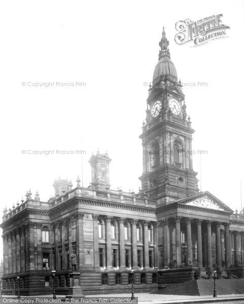 Bolton, Town Hall 1895