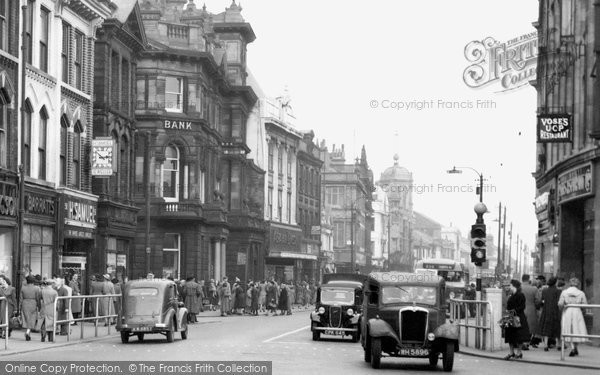 Bolton, Traffic In Deansgate 1950