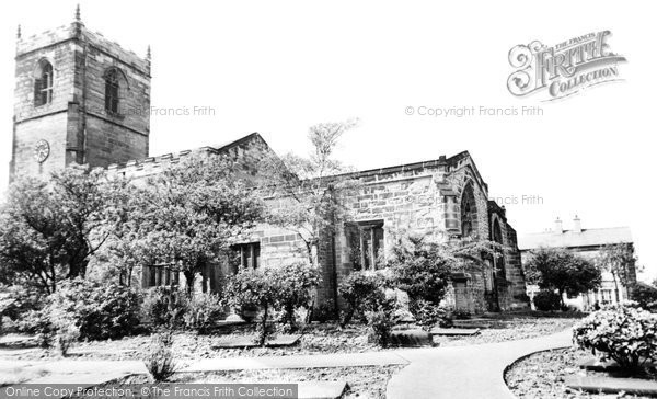 Bolton Upon Dearne, St Andrew's Church c.1955