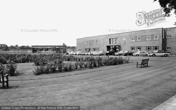 Bolton Upon Dearne, Town Hall And Miners Welfare Grounds c.1960