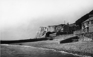 Bonchurch, Cliffs From The East c.1955