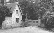 Bonchurch, East Dene, The Lodge c.1955
