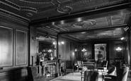 Bonchurch, Eastdene House The Lounge c.1955