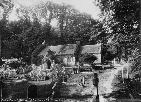 Bonchurch, St Boniface Old Church c.1880