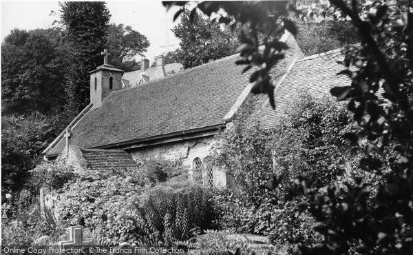 Bonchurch, St Boniface Old Church c.1955