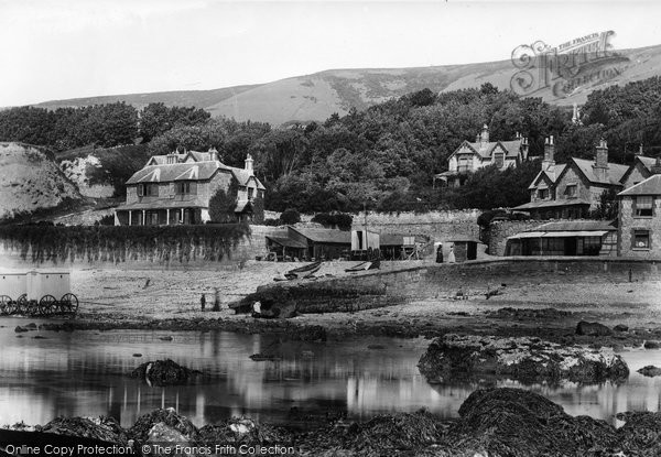 Bonchurch, The Quay 1893