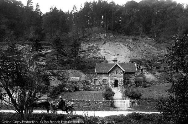Bonsall, Via Gellia, Tufa Cottage 1886
