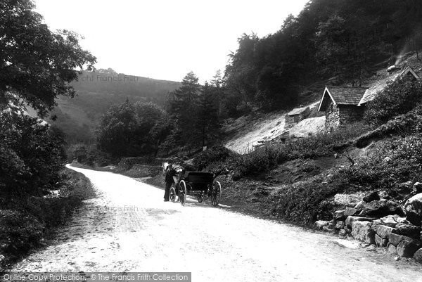 Bonsall, Via Gellia, Tufa Cottage 1892