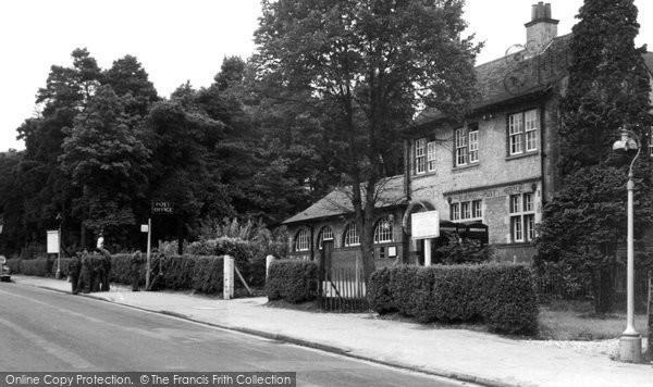 Bordon, Bordon Camp Post Office c.1955