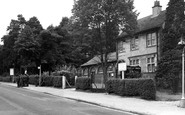 Bordon, Bordon Camp Post Office c.1955