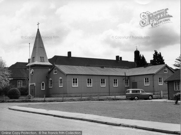 Bordon, Garrison Church c.1960