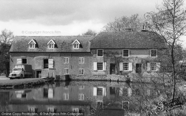 Bordon, Headley Mill Lake c.1960