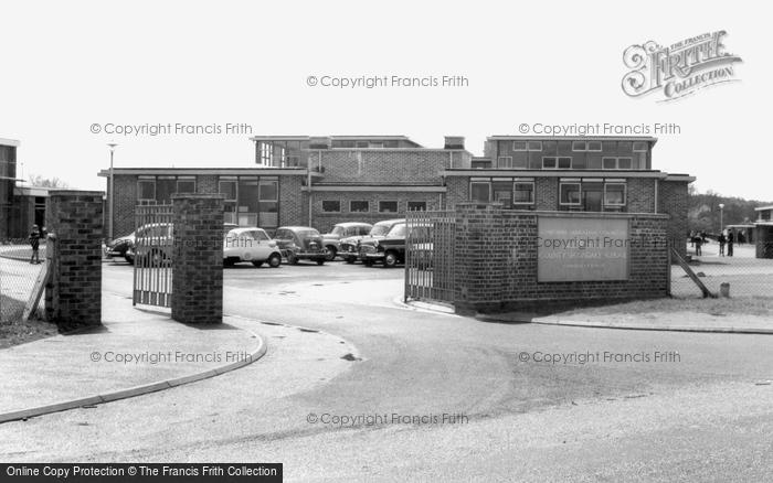 Bordon, Mill Chase County Secondary School c.1960