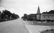 Bordon, St George's Church, Budds Lane c.1955
