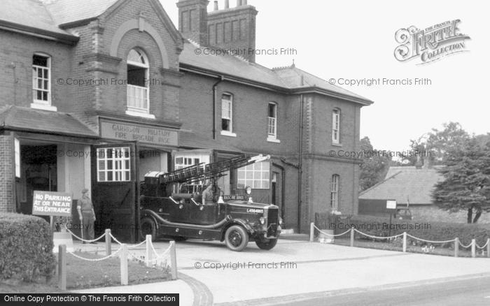Photo of Bordon, the Garrison Military Fire Station c1960