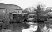 Bordon, the Old Mill c1960