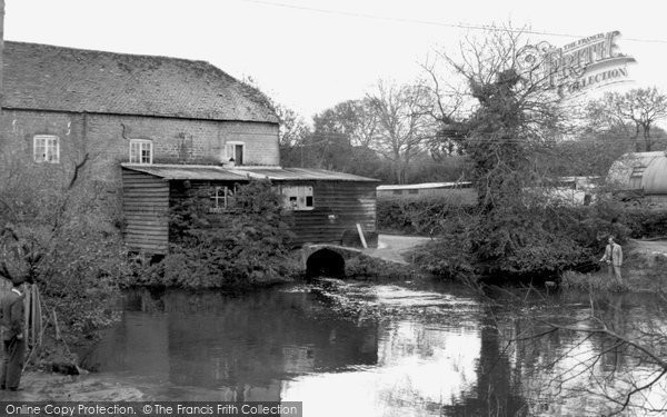Photo of Bordon, the Old Mill c1960