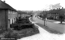 Borehamwood, Gateshead Road c1965