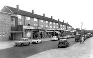 Borehamwood, Leeming Road Shopping Parade c1965