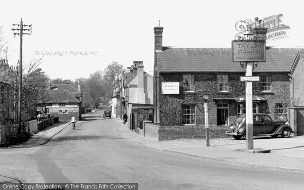 Photo of Borehamwood, Theobald Street c1955