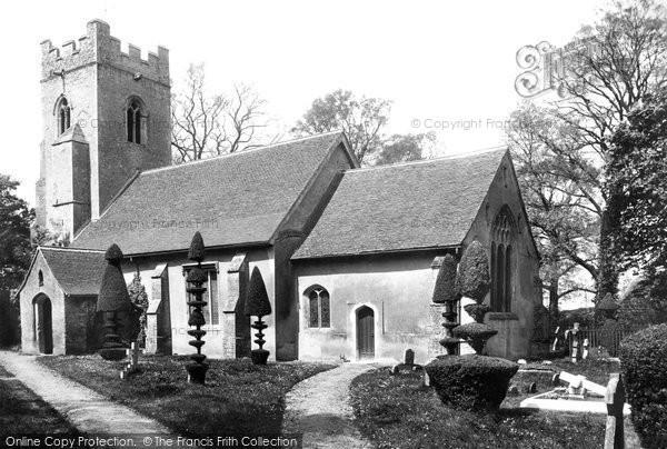 Borley, Church 1900