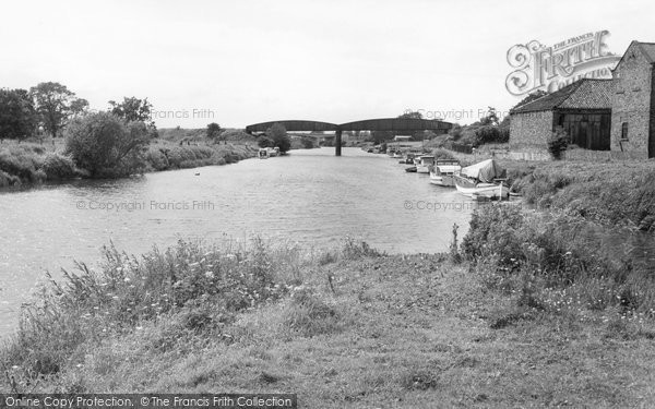 Boroughbridge, The River c.1965