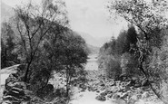 Borrowdale, Birches And River Derwent c.1880
