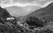 Borrowdale, Bowder Stone c.1880