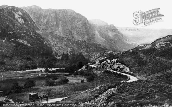 Borrowdale, General View c.1870
