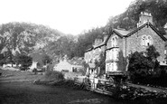 Borrowdale, The Borrowdale Hotel 1895