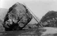 Borrowdale, The Bowder Stone 1889