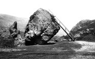 Borrowdale, The Bowder Stone 1893