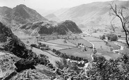 Borrowdale, The Jaws Of Borrowdale c.1880