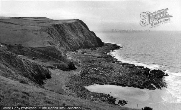 Borth, Abernenol Bay c.1960