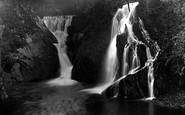 Borth, Artist Valley Waterfall 1935