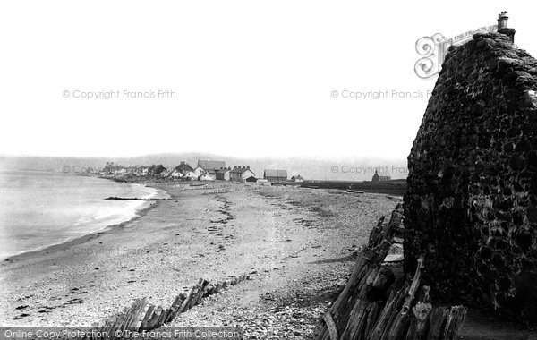 Borth, Beach 1892