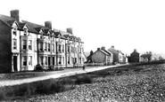 Borth, Borth Terrace 1899