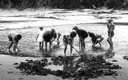 Borth, Children Playing 1925