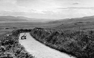 Borth, Clarach Road  c.1955