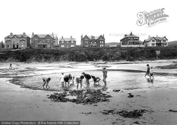 Borth, Cliff Terrace 1925