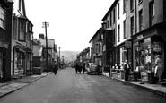 Borth, High Street 1952