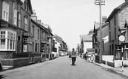 Borth, High Street c.1955
