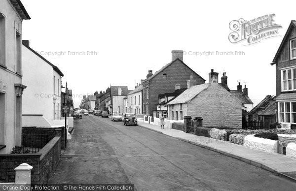Borth, High Street c.1962