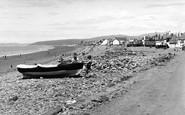 Borth, Looking Towards Towyn c.1955