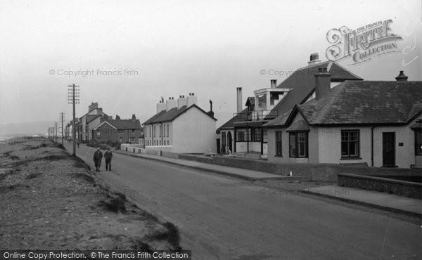 Borth, North End 1936