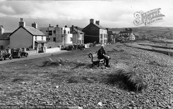 Borth, North End c.1955