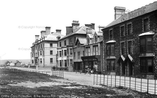 Borth, Parade 1892