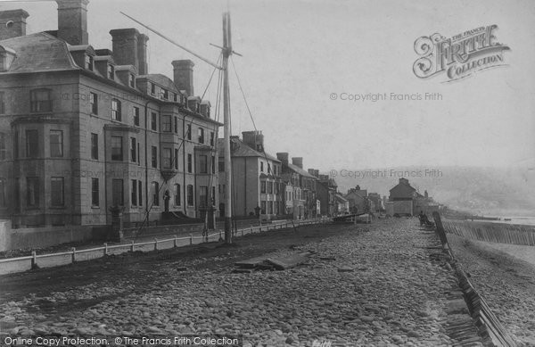 Borth, Parade 1906