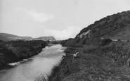 Borth, River Leray 1938