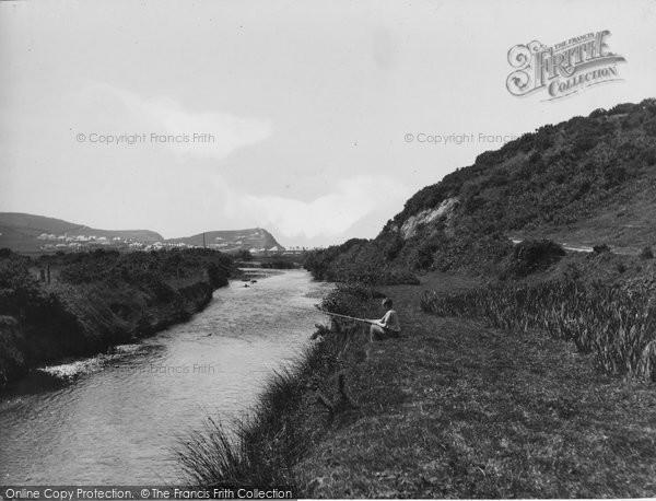 Borth, River Leri 1938